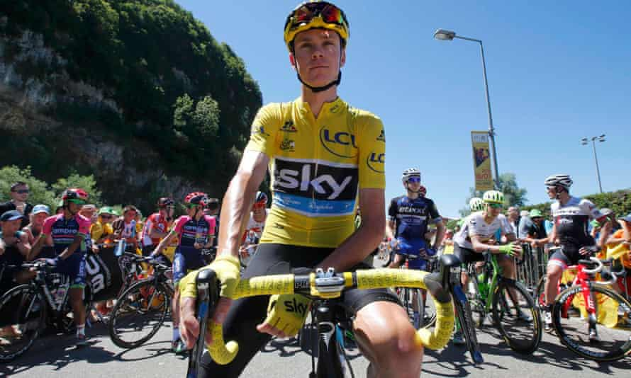 Chris Froome has been in yellow since stage eight and looks well placed to carry it all the way to Paris