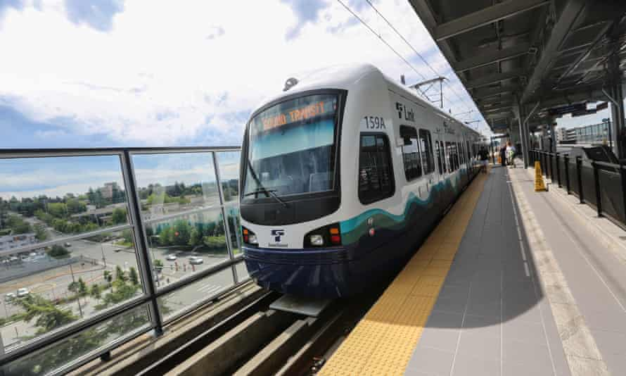 Seattle's Sound Transit Link light rail system is expanding.