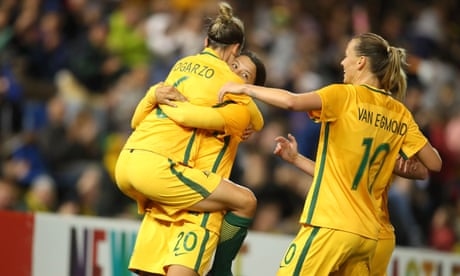 Matildas equal their longest winning streak with another win over Brazil
