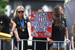 The lawsuit alleges that women players each earn a maximum of $99,000 total for a season, compared with an average of $263,320 for male players