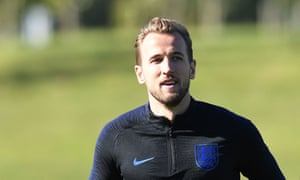 Harry Kane has been managed carefully in England's training sessions this week.