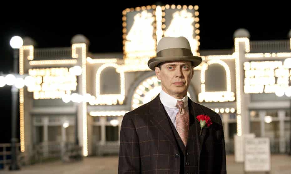Atlantic City kingpin: playing hotshot gangster Nucky Thompson in HBO's epic Boardwalk Empire.