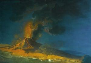 Vesuvius in Eruption, 1774, Joseph Wright