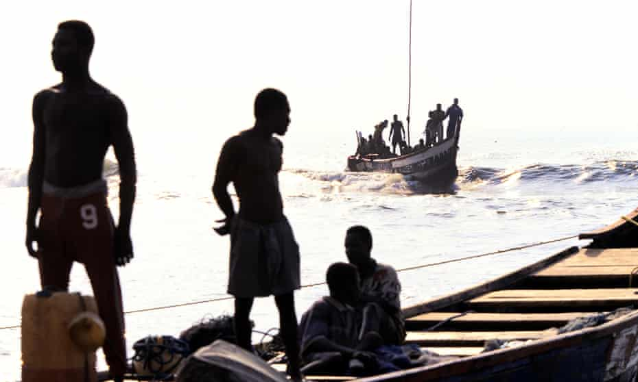 fisherman accra ghana