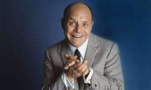 Don Rickles: an insult comic with a passion for jokes, specifically acerbic one-liners.