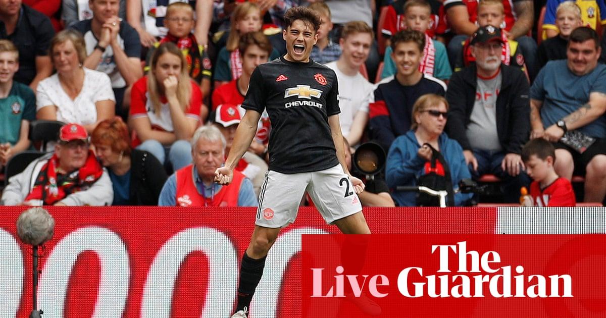 Southampton v Manchester United: Premier League –live!