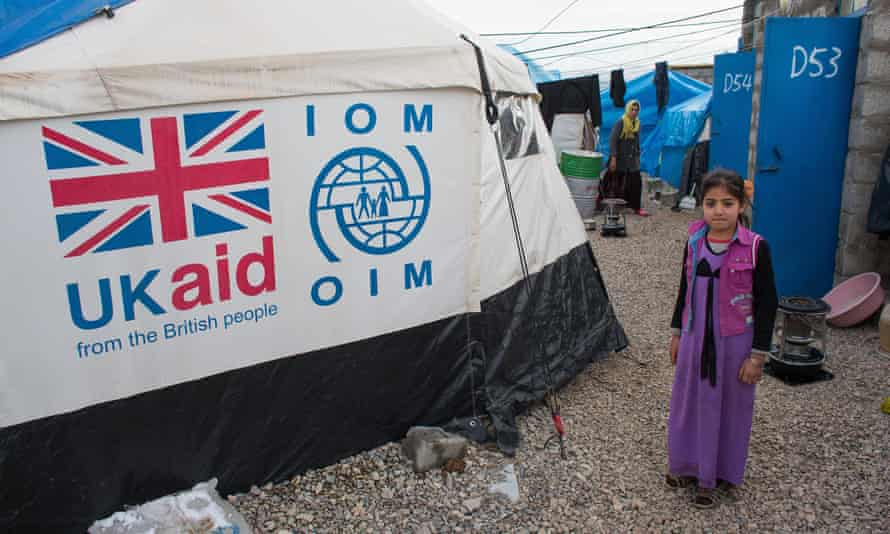 UK aid offers a vital lifeline to refugees such as those in northern Iraq.