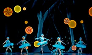 Scottish Ballet dancers in Hansel and Gretel by Christopher Hampson. Photograph: Andy Ross.