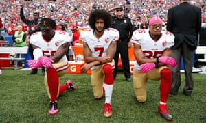 3e6f2aac Activist groups protest new NFL policy banning players from kneeling ...