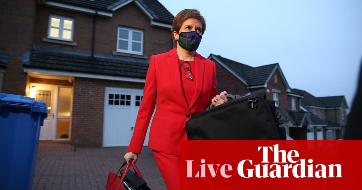 Nicola Sturgeon gives evidence to Alex Salmond inquiry amid calls to resign – live updates