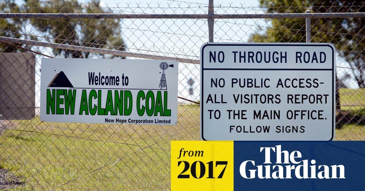Court recommends $900m New Acland mine be rejected   Australia news