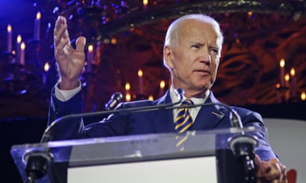 'Biden is reassuring, not strident, and in that sense he is the anti-Trump.'