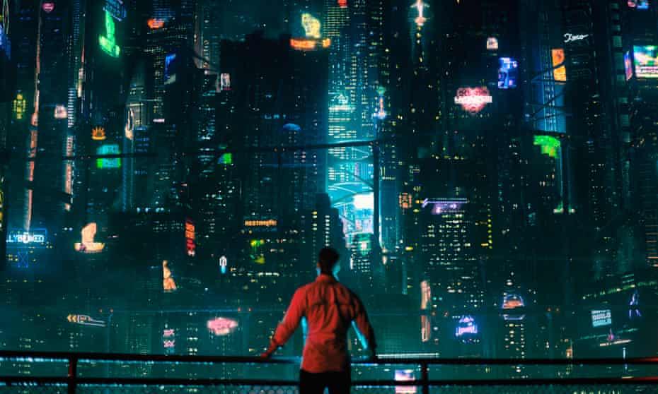 Joel Kinnaman in a still from Netflix's Altered Carbon