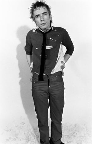 John Lydon in 1976.