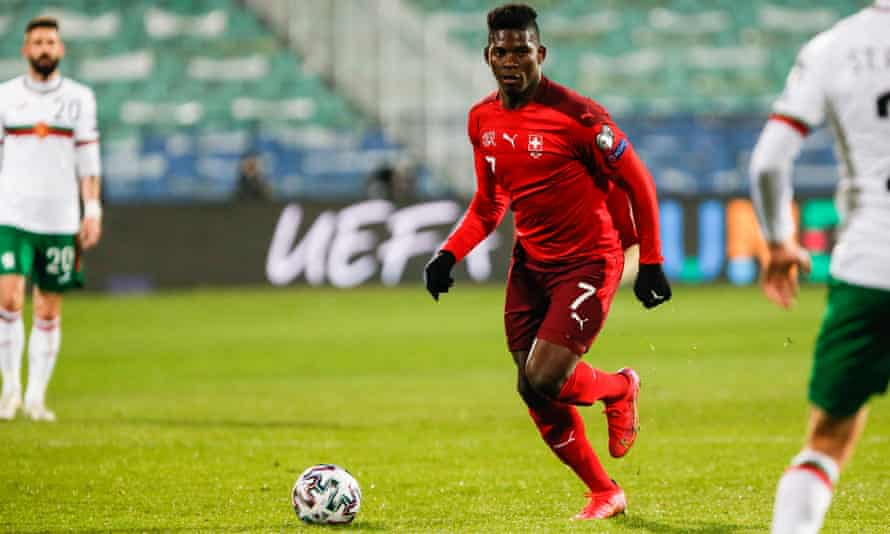 Breel Embolo Scored in Switzerland's 3-1 victory over Bulgaria in a recent World Cup qualifier.