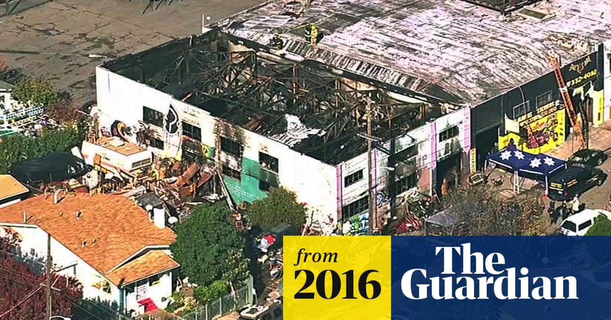 Oakland warehouse fire is product of housing crisis, say artists and
