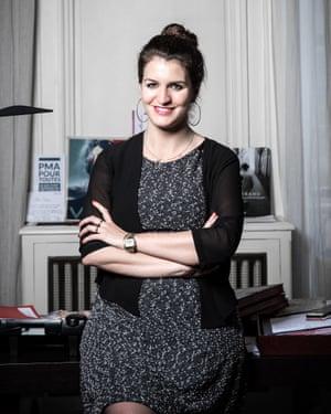 Marlène Schiappa in her office.
