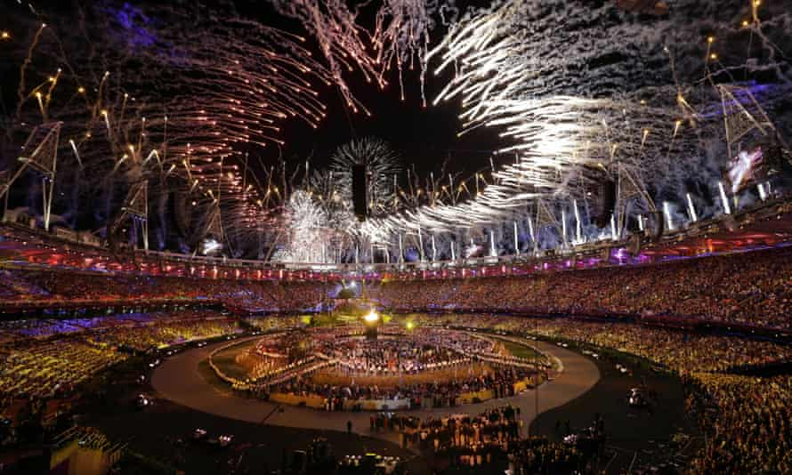 The opening ceremony of the London 2012 Olympics
