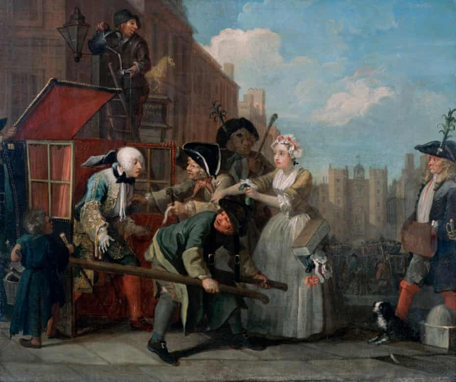 An epic of laughter and squalor: The Rake's Progress IV: The Arrest
