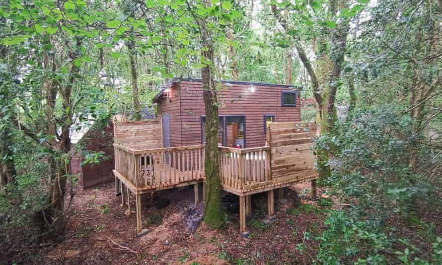 Kaowood Pod & cabin accommodation Carmarthen