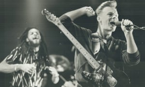 Ali Campbell performing with UB40 in 1985.