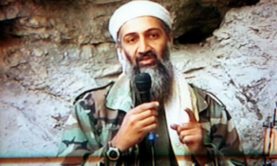 Osama bin Laden. Photograph: Maher Attar/Corbis Sygma