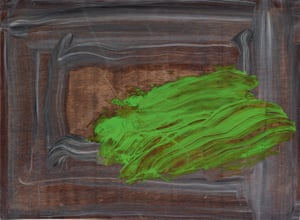 A Green Thought in a Green Shade by Howard Hodgkin.