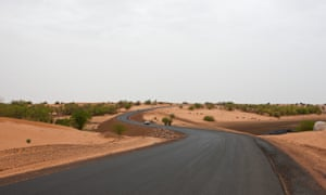 A road built by China in Mauritania's southern Brakna region. The 'emerging donor' countries eschew the term aid because of its simplistic connotations, preferring the language of 'mutual benefit'.