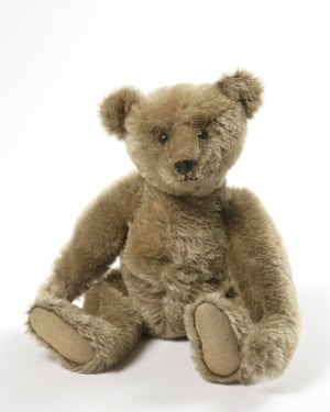 An original Steiff bear, part of Winnie the Pooh: Exploring a Classic