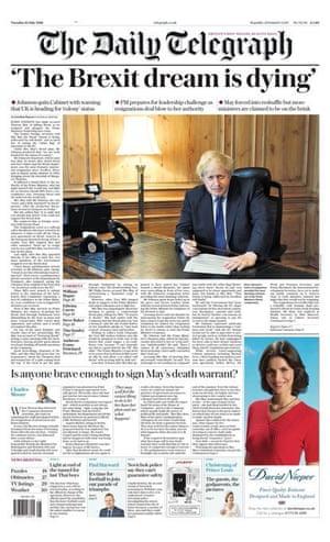 Daily Telegraph 10 July 2018
