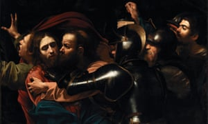 Caravaggio's The Taking of Christ.