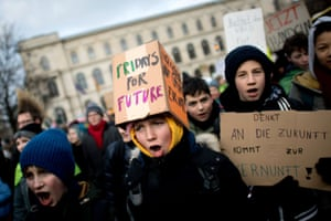 Fridays for Future demonstration in Berlin, Germany