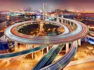 Shanghai's Nanpu bridge