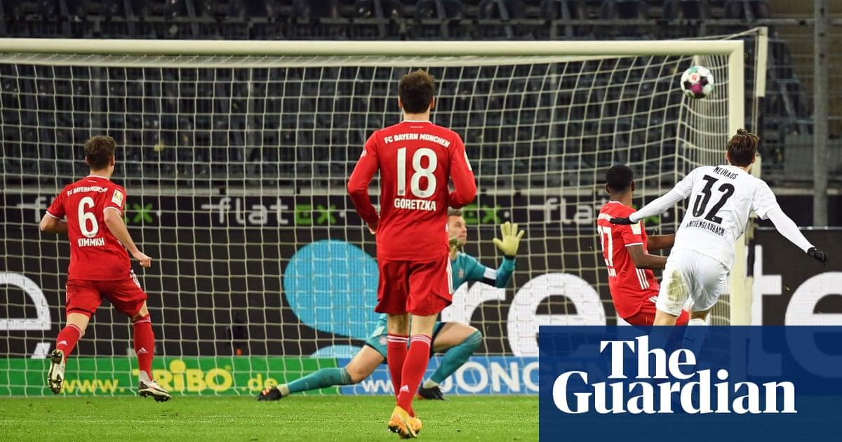 Bayern fall to old nemesis as Neuhaus caps glorious Gladbach comeback | Andy Brassell