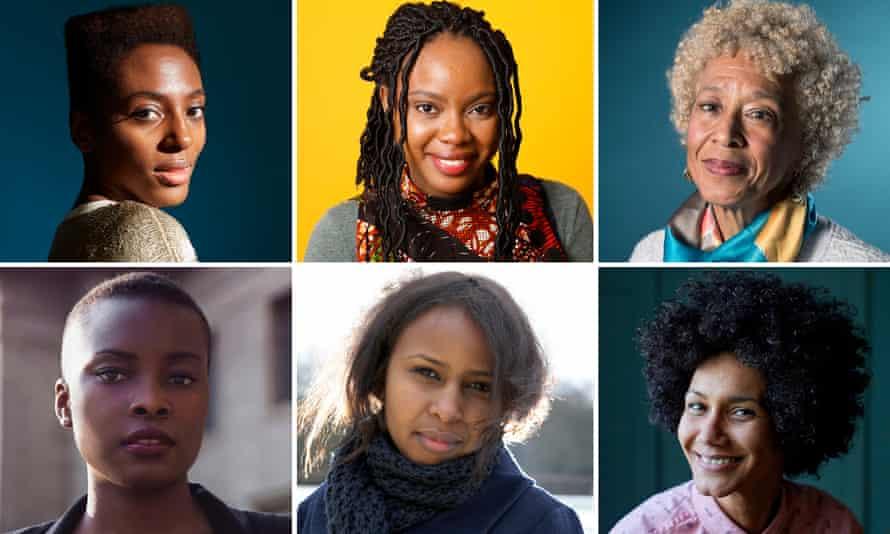 Left to right, top: Yrsa Daley-Ward; Ayòbámi Adébáyò; Margo Jefferson; bottom, Panashe Chigumadzi; Nadifa Mohamed and Zoe Adjonyoh
