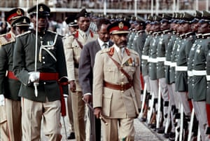 Emperor Haile Selassie, who was deposed in a military coup after 58 years in power