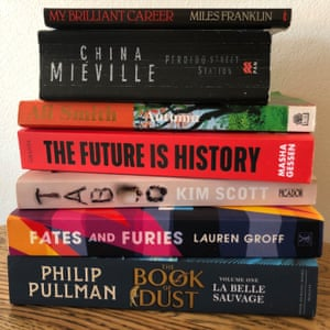 Stephanie Convery's summer reading stack