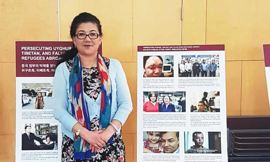 Nurgul Sawut, a Uyghur community leader based in Canberra