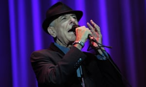 Leonard Cohen on stage in 2012 at the Palau Sant Jordi hall in Barcelona