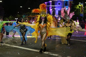 The Sydney Mardi Gras parade began in 1978 as a march and commemoration of the 1969 Stonewall Riots of New York.