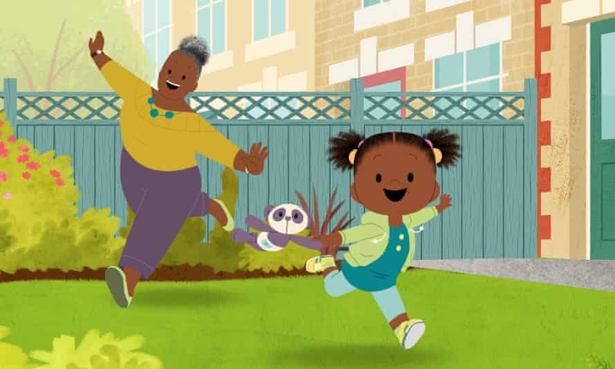 A scene from the CBeebies animated TV series JoJo and Gran Gran