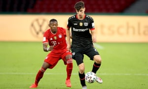 Bayer Leverkusen's Kai Havertz remains a target for Chelsea – who have already splashed out on Timo Werner and Hakim Ziyech.