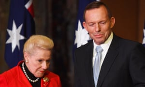 Tony Abbott and Bronwyn Bishop