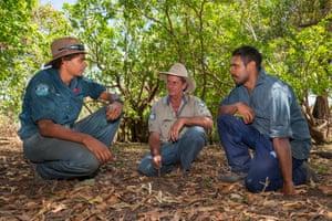 Head ranger at Rinyirru (Lakefield) National Park in Queensland, Tony Cockburn mentors the development of Indigenous rangers