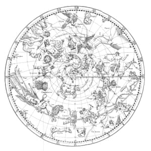 A German celestial map from 1795