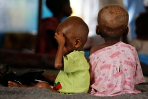 Hundreds of thousands of children close to dying of hunger in Congo