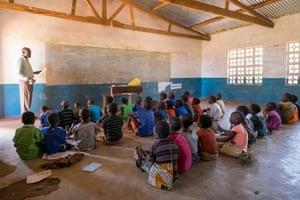 The primary school of Mguwata, Malawi