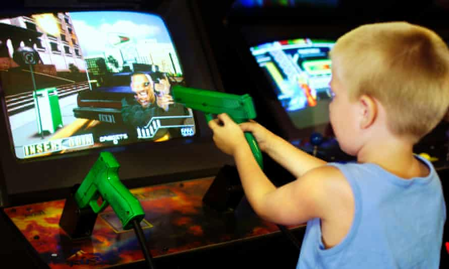 Keeping your children away from violent games when they're at a friend's house is a major parental challenge