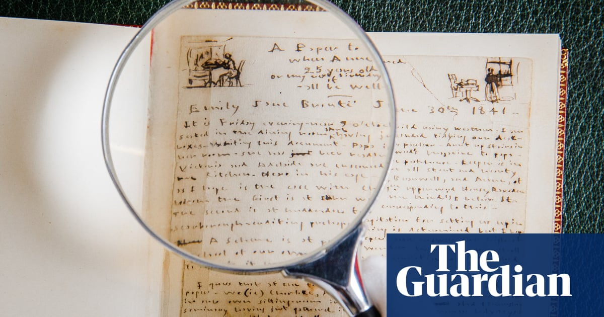 Emily Brontë's handwritten poems are highlight of 'lost library' auction