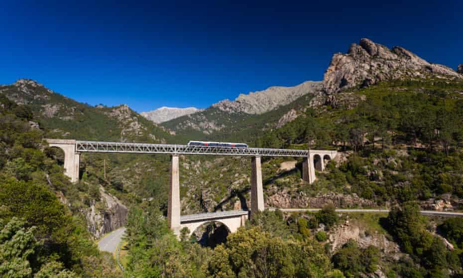 Corsica's Pont du Vecchio, designed by Gustave Eiffel.